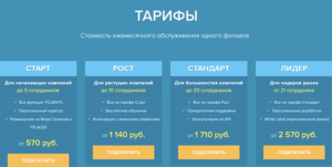 yclients тарифы